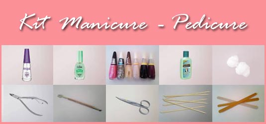 Kit Manicure Pedicure