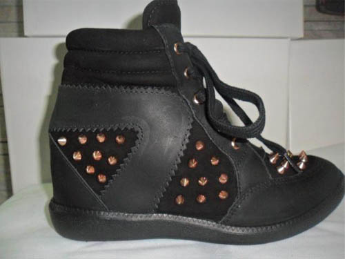 sneakers couro